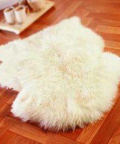 Sheepskin Ivory