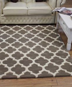 Artisan rug - Colour Taupe