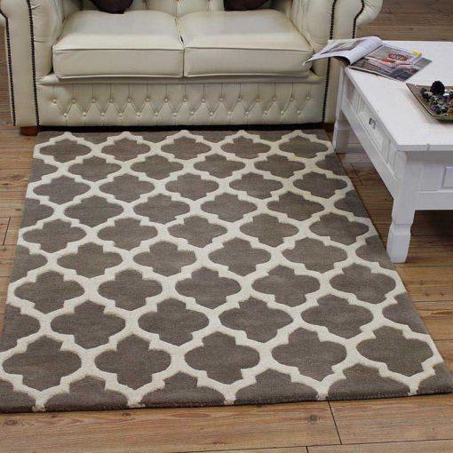 Artisan rug - Colour Taupe