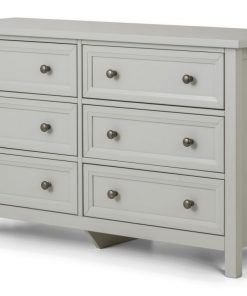 Maine 6 Drawer Wide Chest