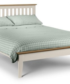 Solerno Ivory Shaker Bed