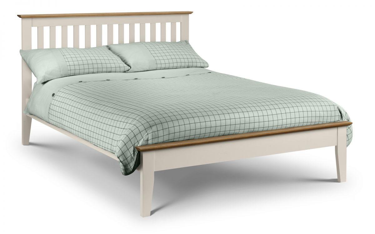 Solerno Ivory Shaker Bed