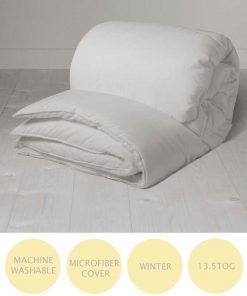 13.5 tog hollowfiber duvet