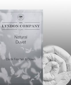 Lyndon duck feather & down duvet