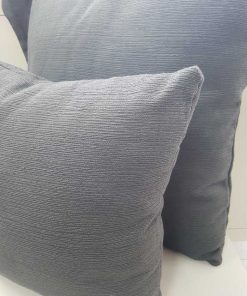 Carmela Dark Grey Cushion cover