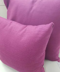 Carmela mauve Cushion cover