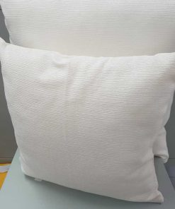 Carmela white Cushion cover