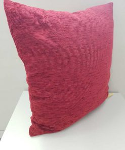 Chenille ocean burgundy Cushion cover. Part of the chenille collection, this plain burgundy cushion cover is made with a soft chenille.